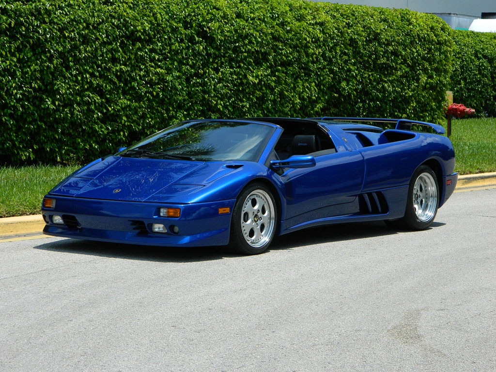 1997 5 Lamborghini Diablo Roadster Hollywood Wheels Auctions Amp Shows