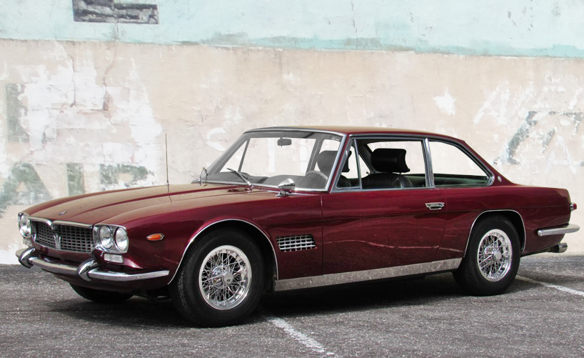 1967 Maserati Mexico 4700 Hollywood Wheels Auction Shows