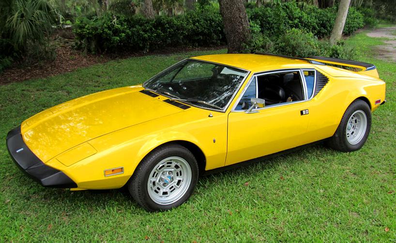 Used Cars Orlando Fl >> 1973 DeTomaso Pantera - Hollywood Wheels Auction Shows