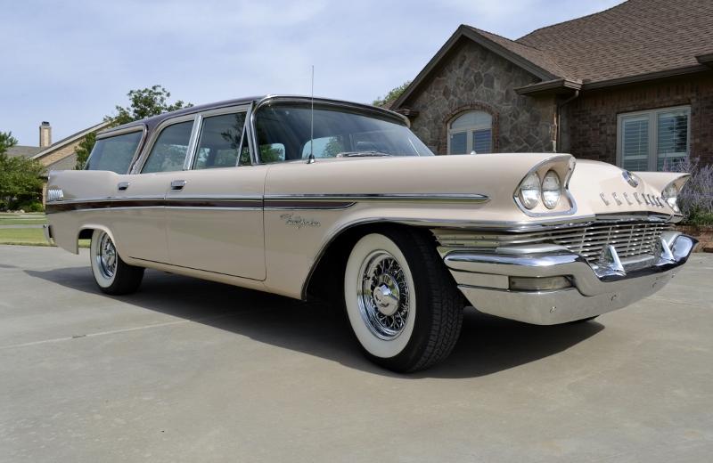1957 Chrysler New Yorker Station Wagon Hollywood Wheels
