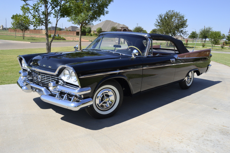 1958 Dodge Royal Lancer Super D 500 Hollywood Wheels