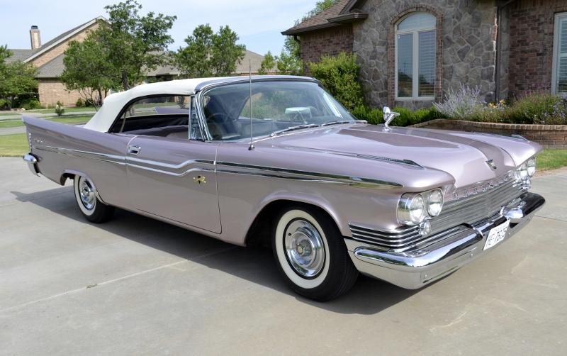 1959 Chrysler Windsor Convertible Hollywood Wheels