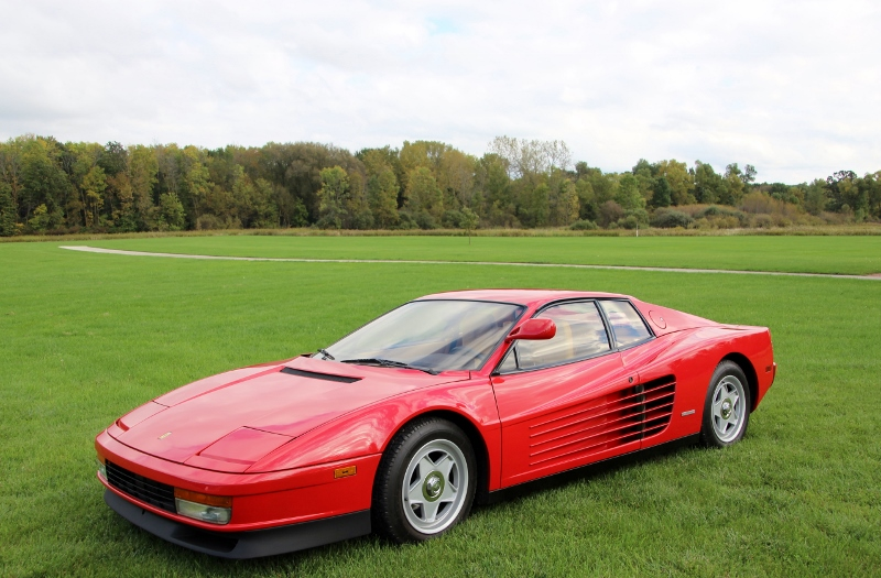 1986 Ferrari Testarossa - Hollywood Wheels Auction Shows