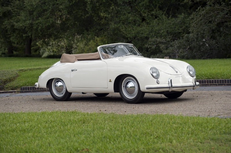 1953 Porsche 356 Pre A Cabriolet Hollywood Wheels