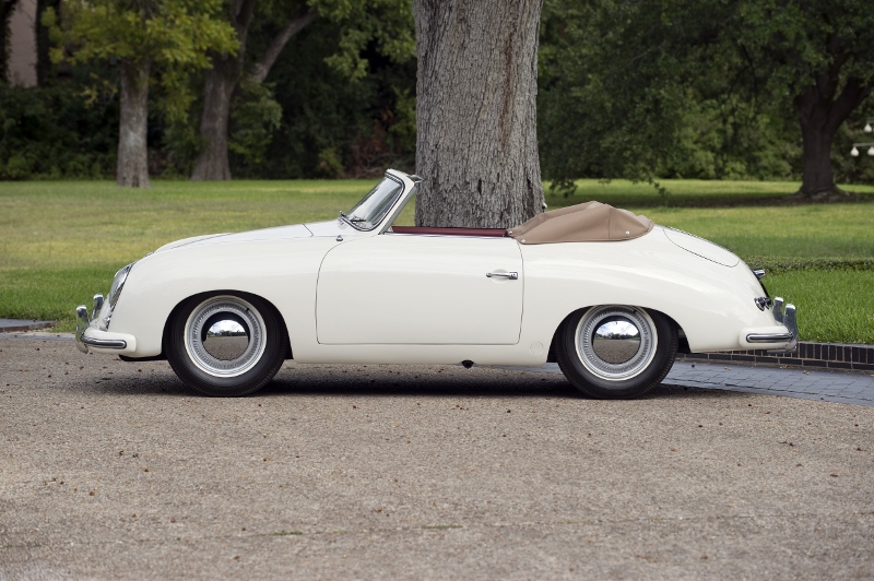 1953 Porsche 356 Pre A Cabriolet Hollywood Wheels Auction Shows