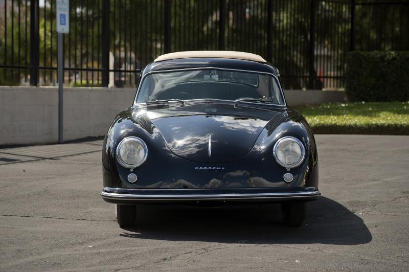 1953 Porsche 356 Pre A Golde Top Hollywood Wheels