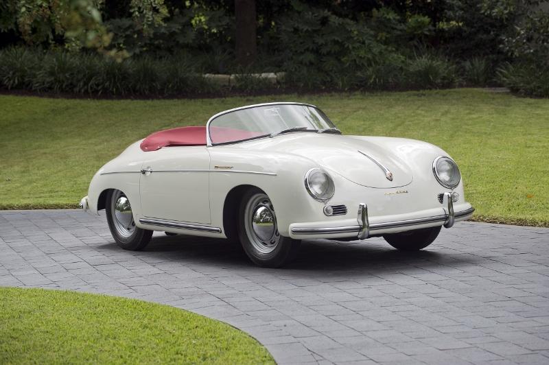 1955 Porsche 356 Speedster Hollywood Wheels Auction Shows