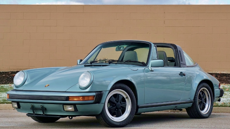 1987 Porsche 911 Targa Hollywood Wheels Auction Shows