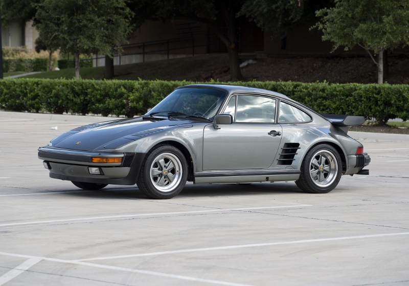 1988 Porsche 930 Factory 505 Slant Nose Hollywood Wheels Auctions Amp Shows