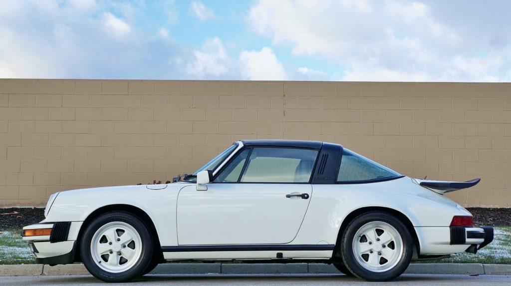 1989 Porsche 911 Targa Hollywood Wheels Auction Shows