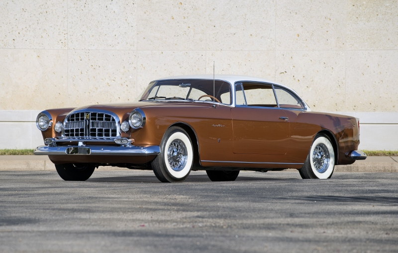 1955 Chrysler Ghia St Special Hollywood Wheels Auction Shows