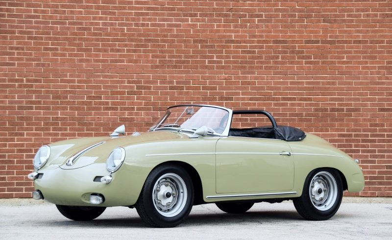 "2017 Orlando Auto Show >> 1961 Porsche 356 ""Outlaw"" Roadster - Hollywood Wheels Auction Shows"