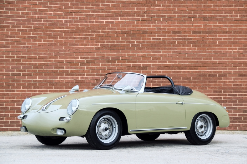 1961 Porsche 356 Quot Outlaw Quot Roadster Hollywood Wheels