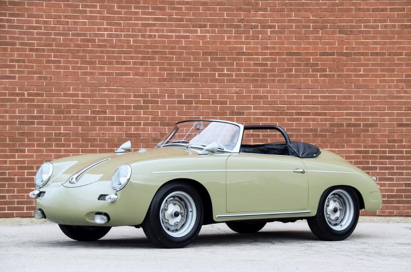 1961 porsche 356 \