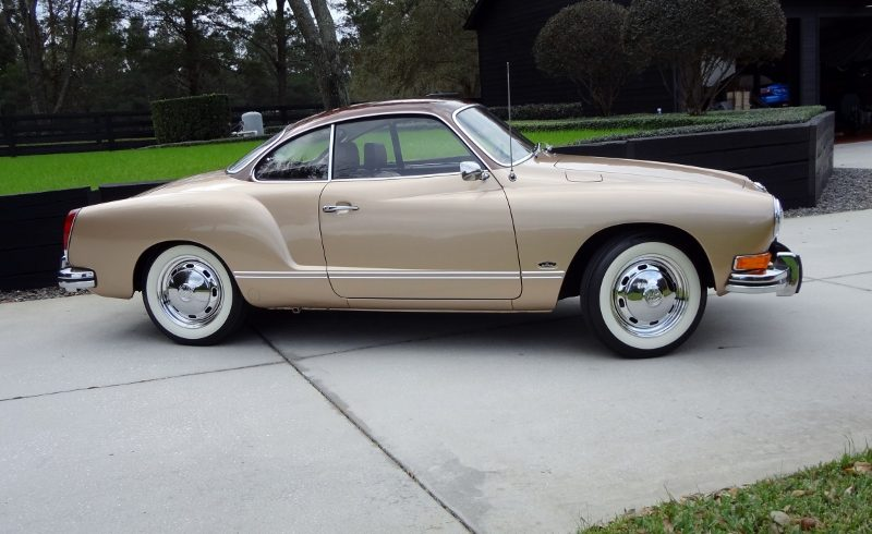 1973 Volkswagen Karmann Ghia Hollywood Wheels Auction Shows