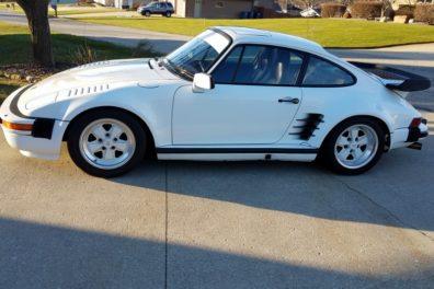 1987 Porsche 911 Turbo Factory '505' Slantnose Coupe