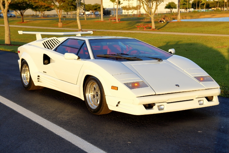 1989 Lamborghini Countach 25th Anniversary Edition - Hollywood ...