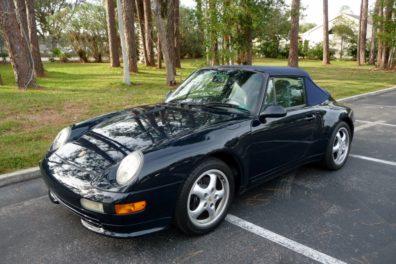 1997 Porsche 993 Carrera 2 Cabriolet