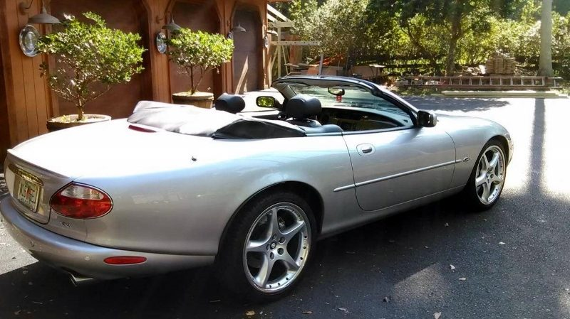 2001 Jaguar Xkr Silverstone Supercharged Convertible