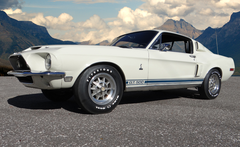 1968 Shelby Mustang GT500 Fastback - Hollywood Wheels