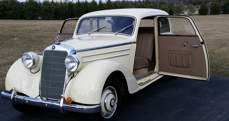 1949 Mercedes Benz 170 S Hollywood Wheels Auction Shows