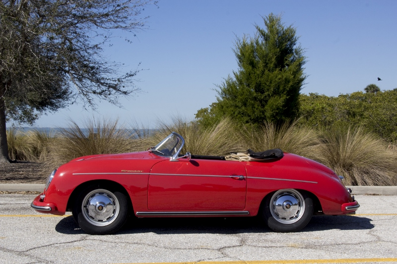 1957 Porsche 356 Speedster Hollywood Wheels Auction Shows