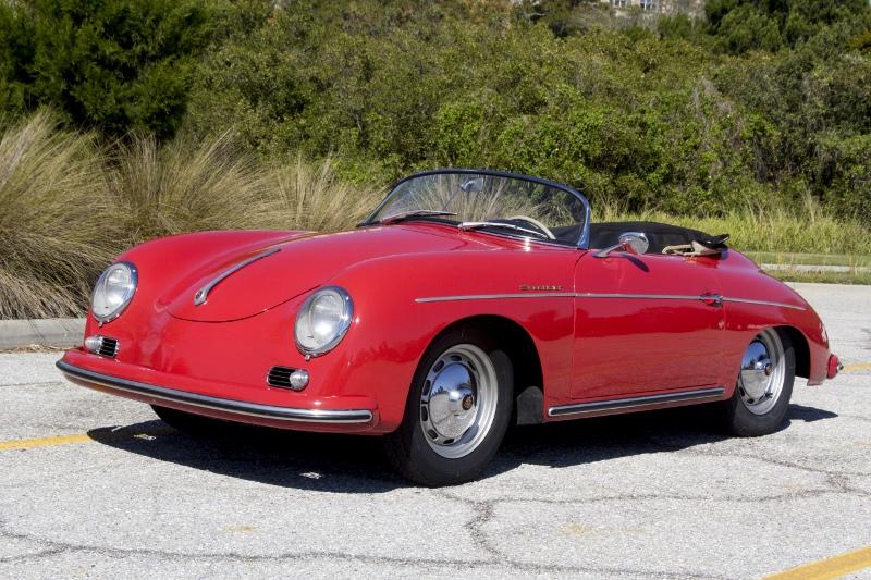 1957 Porsche 356 Speedster Hollywood Wheels Auctions Amp Shows