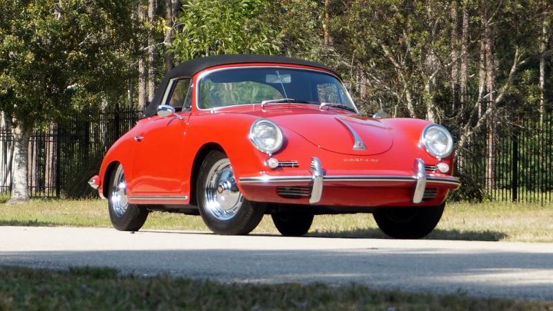 1960 Porsche 356 T5 B Cabriolet