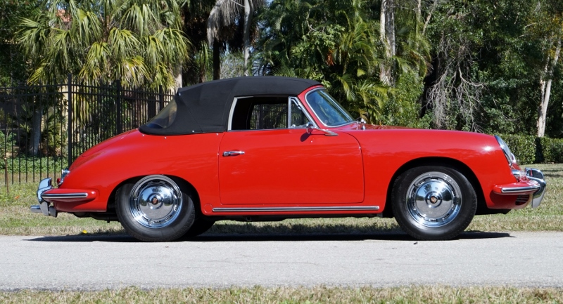 1960 Porsche 356 T5 B Cabriolet Hollywood Wheels Auction