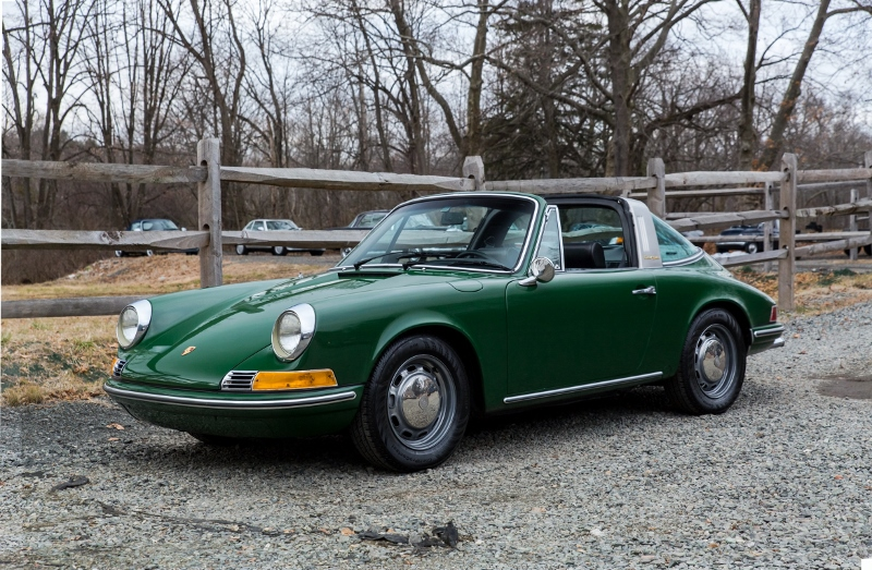 1969 Porsche 912 Targa Hollywood Wheels Auction Shows