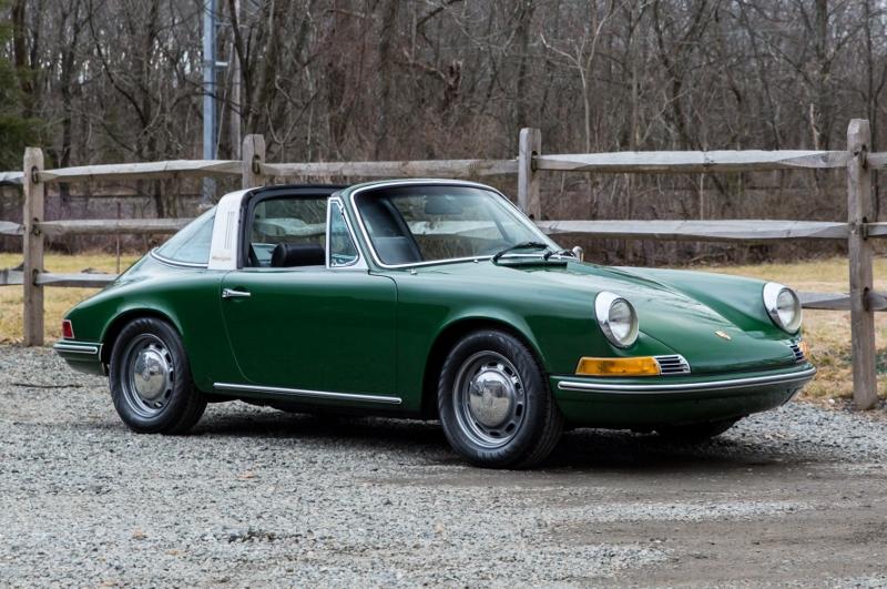 1969 Porsche 912 Targa - Hollywood Wheels Auctions & Shows