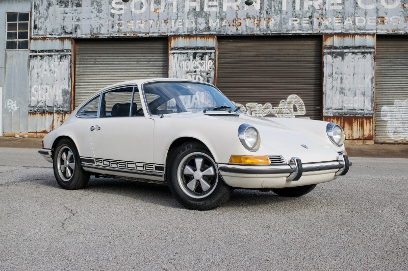 1971 porsche 911 t garage find hollywood wheels auction shows. Black Bedroom Furniture Sets. Home Design Ideas