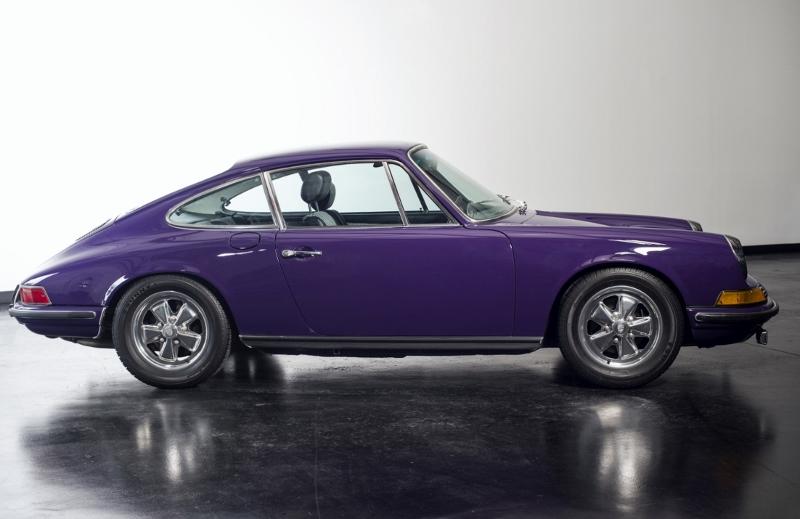 1972 Porsche 911 T Coupe Hollywood Wheels Auction Shows