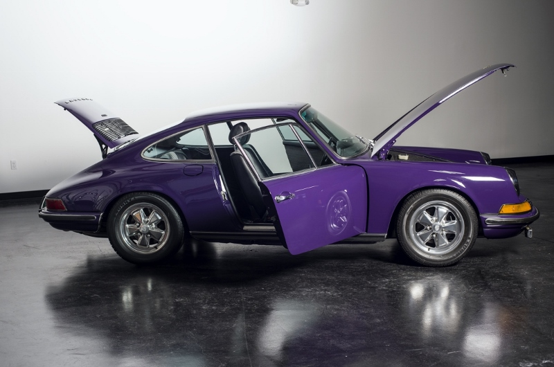1972 Porsche 911 T Coupe Hollywood Wheels Auction Shows