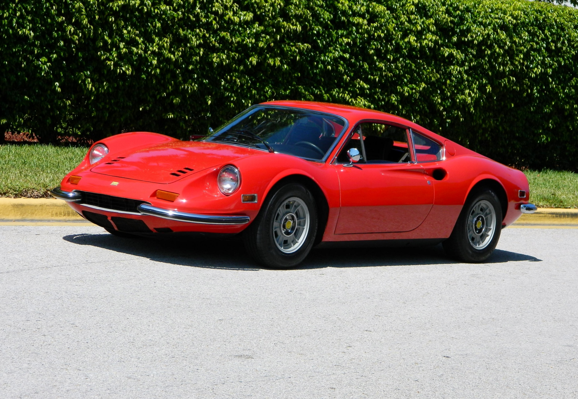 1972 ferrari dino 246 gt hollywood wheels auction shows. Black Bedroom Furniture Sets. Home Design Ideas