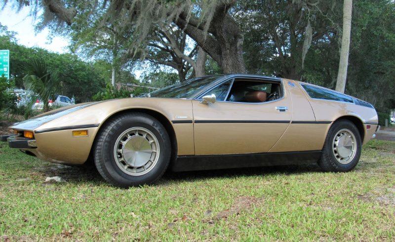 1974 Maserati Bora 4.9 Coupe - Hollywood Wheels Auction Shows