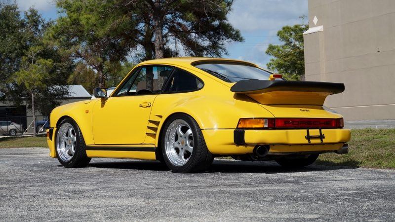 1975 Porsche 930 Turbo Hollywood Wheels Auction Shows