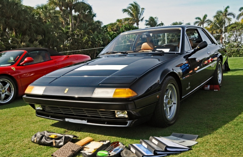 1983 ferrari 400i hollywood wheels auctions shows. Black Bedroom Furniture Sets. Home Design Ideas
