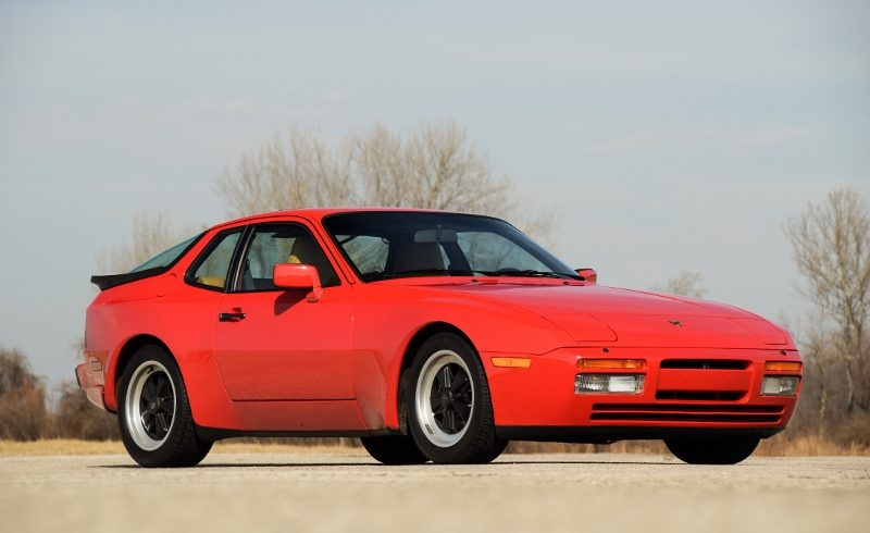1986 Porsche 944 Turbo Hollywood Wheels Auction Shows