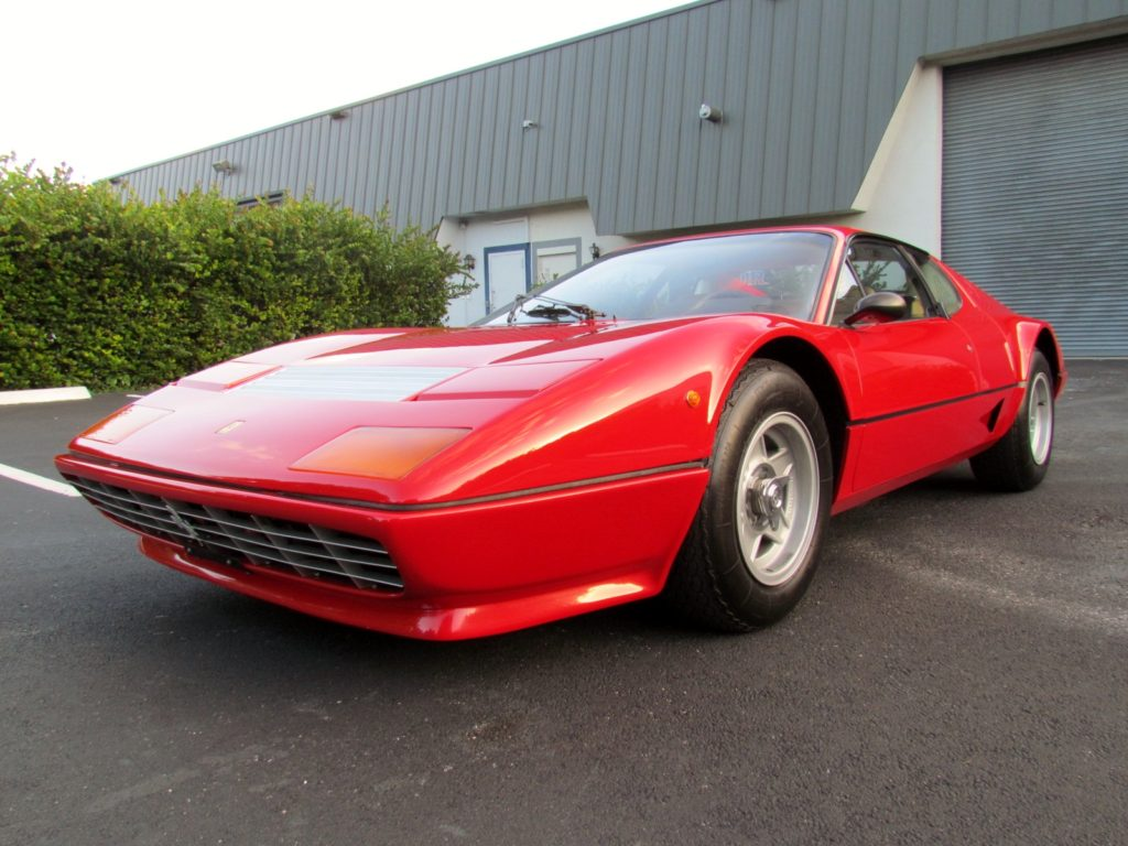 1981 ferrari 512 bb coupe hollywood wheels auction shows. Black Bedroom Furniture Sets. Home Design Ideas