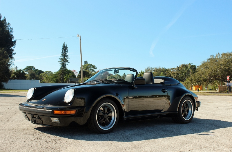 1989 Porsche 911 Speedster Hollywood Wheels Auction Shows