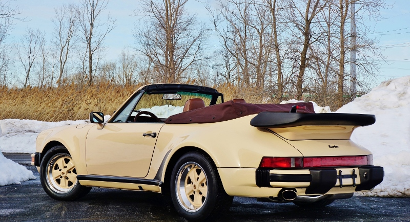1989 Porsche 911 Turbo Cabriolet Hollywood Wheels