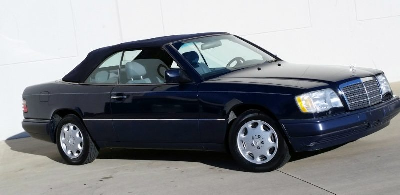 1994 mercedes benz e320 cabriolet hollywood wheels auction shows 1994 mercedes benz e320 cabriolet