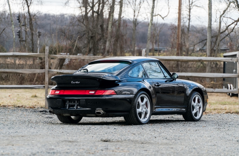 1996 Porsche 993 Turbo Hollywood Wheels Auction Shows