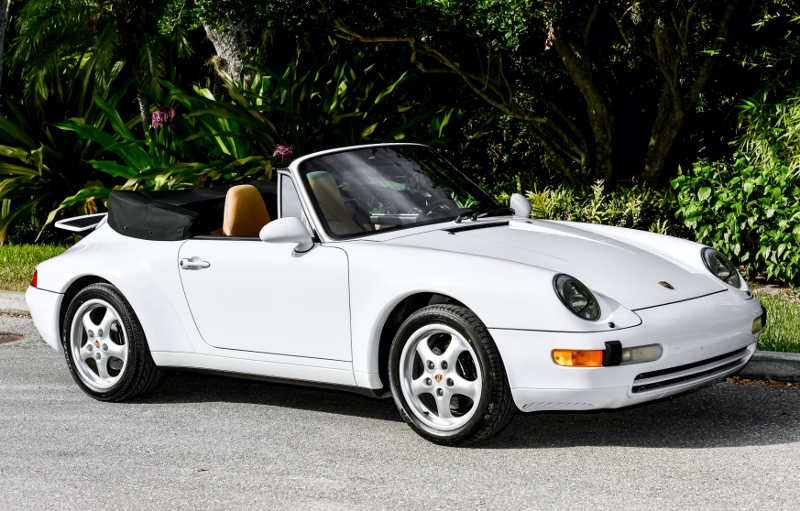 1998 Porsche 993 Cabriolet Hollywood Wheels Auctions Amp Shows