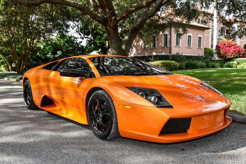 2002 Lamborghini Murcielago Hollywood Wheels Auction Shows