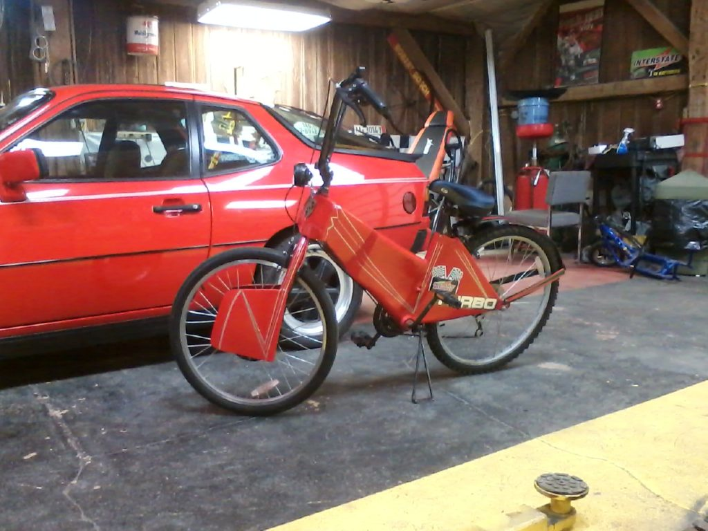 2013 Porsche 219 Hybrid Bicycle Hollywood Wheels Auction