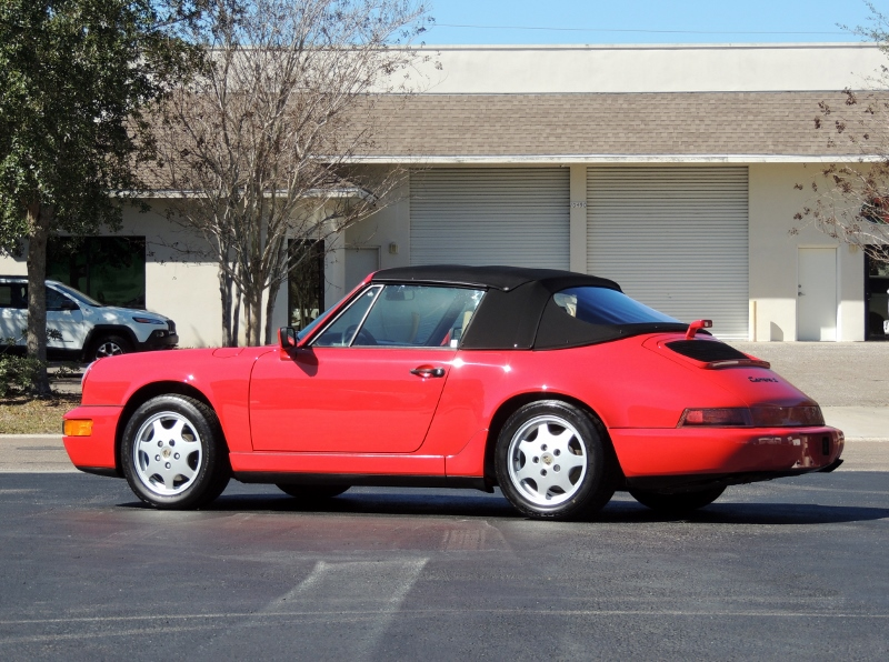 1990 Porsche 911 Carrera 2 Cabriolet Hollywood Wheels