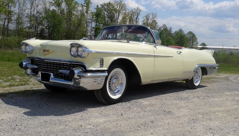 1958 Cadillac Eldorado Biarritz Convertible Hollywood