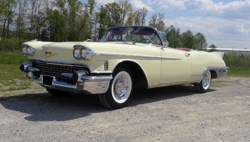 1958 Cadillac Eldorado Biarritz Convertible Hollywood